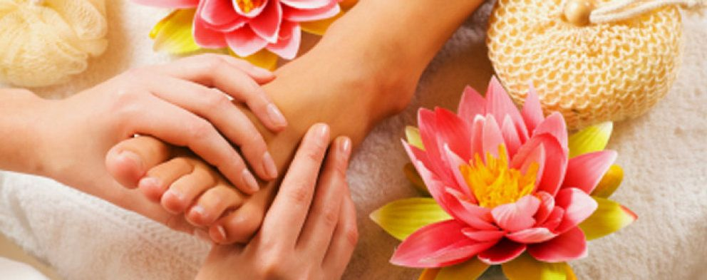 Foto: Pies que hablan y manos que curan