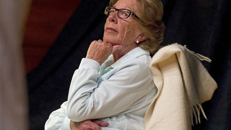 La abuela de la reina Letizia, Menchu Álvarez del Valle, en una imagen de archivo. (EFE)