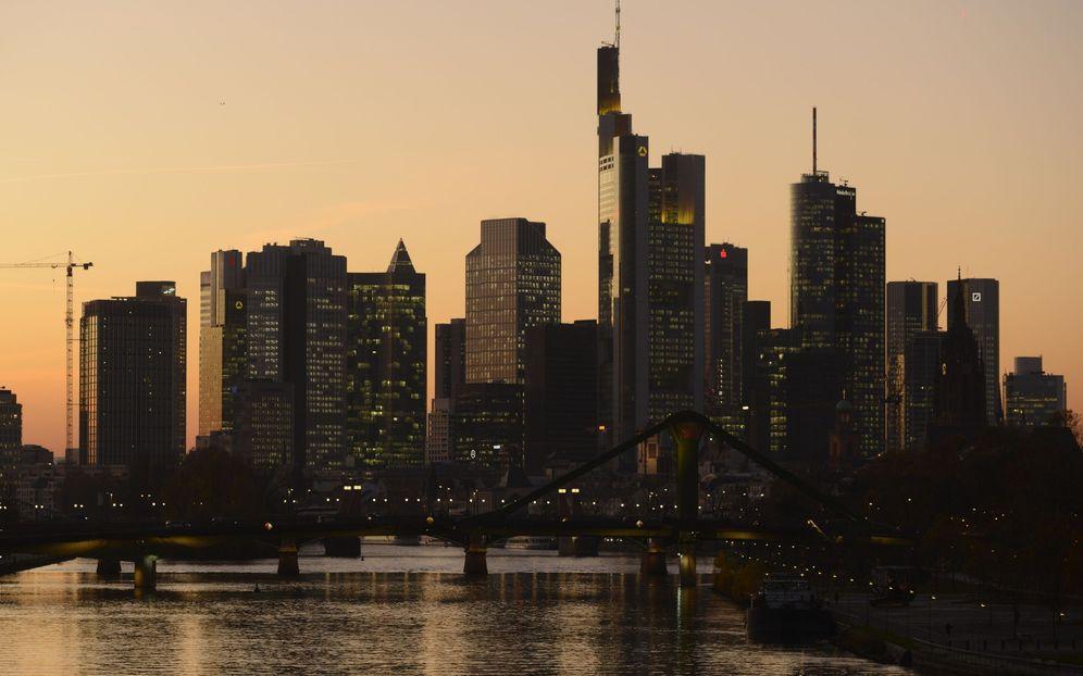 Foto: El 'skyline' de Fráncofrt. (Reuters)