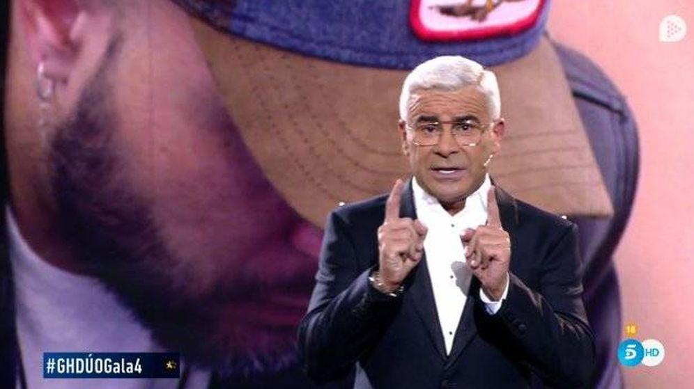 Foto: Jorge Javier censura un tema a Julio Ruz en 'GH Dúo'. (Telecinco)