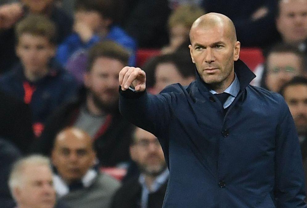Foto: En la imagen, Zidane en una imagen de archivo. (EFE)
