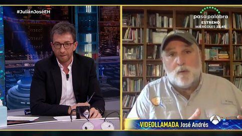 La denuncia del chef José Andrés en 'El hormiguero' ante la pandemia