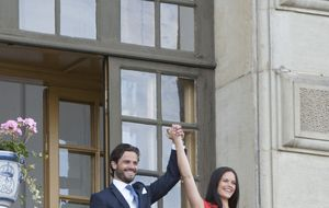 Carlos Felipe y su novia se casarán el próximo 13 de junio