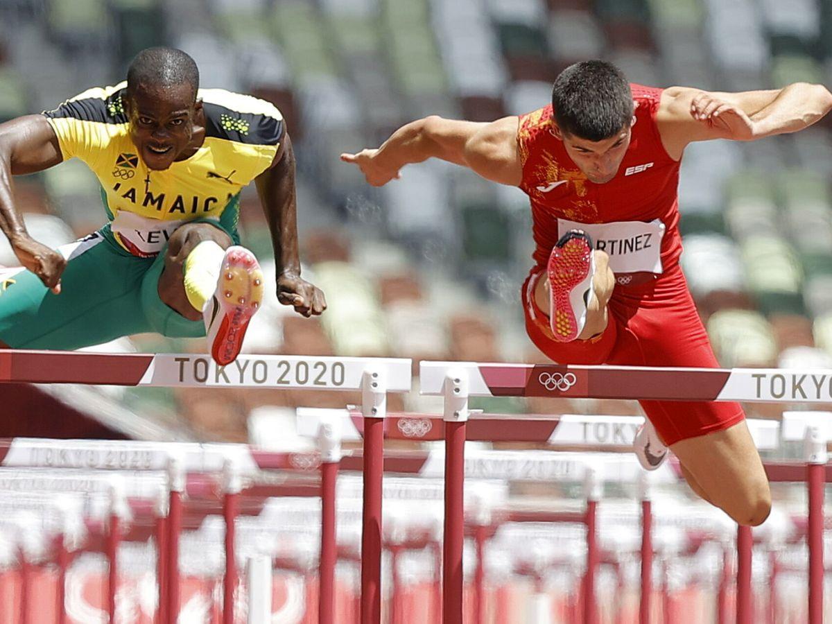 Foto: Asier Martínez, durante la final. (Reuters)