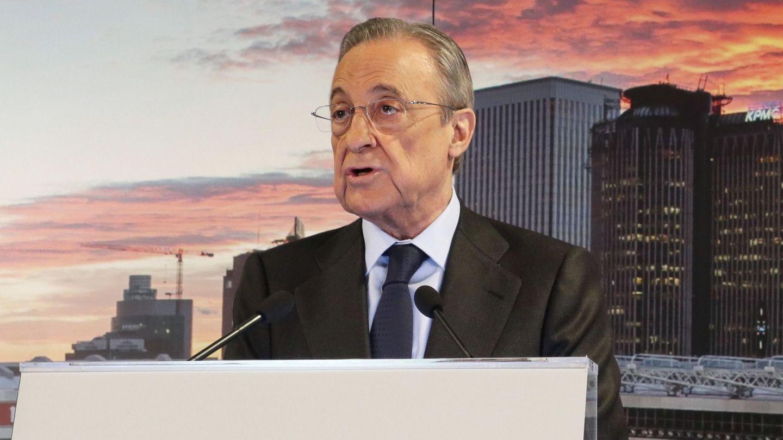 Florentino Pérez, en una imagen de archivo. (EFE)