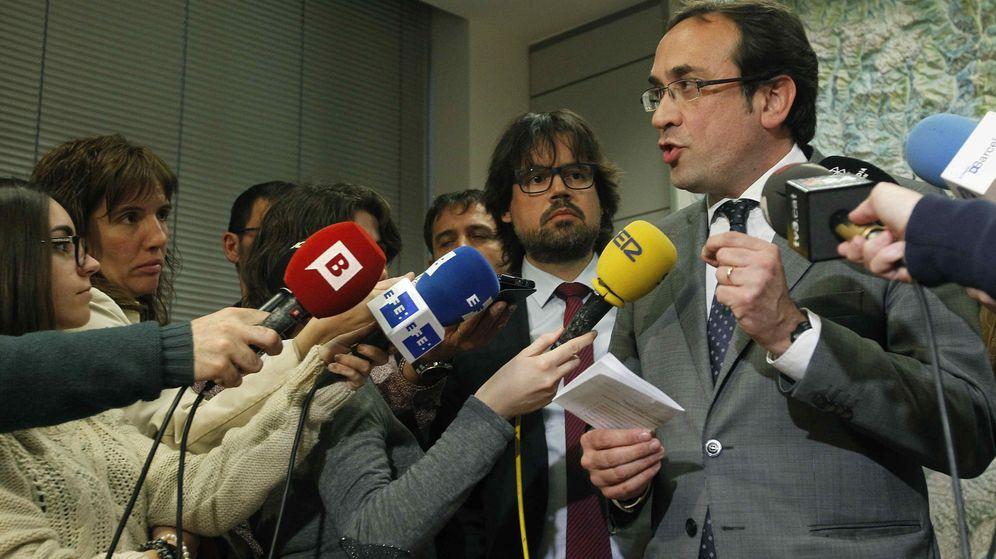 Foto: Josep Rull es el muñidor del plan que contempla la Generalitat para los peajes. (EFE)