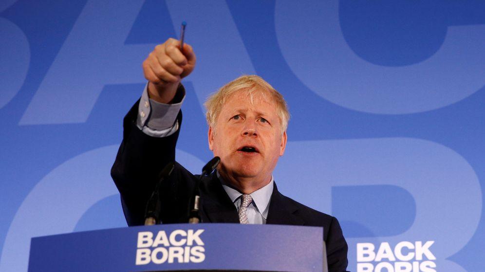 Foto: Boris Johnson, uno de los favoritos a sustituir a la primera ministra. (Reuters)