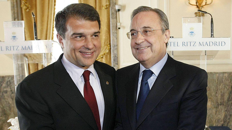 Joan Laporta y Florentino Pérez