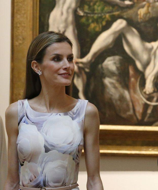 Foto: Doña Letizia, durante la exposición de El Greco (Gtres)