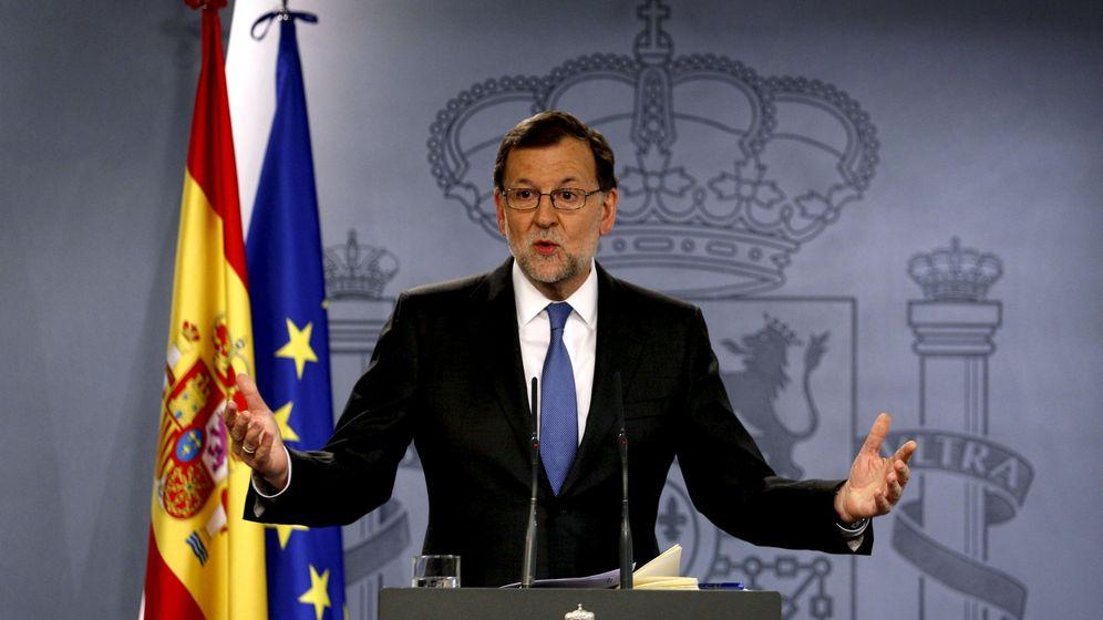 Foto: Mariano Rajoy durante la rueda de prensa. (Reuters)