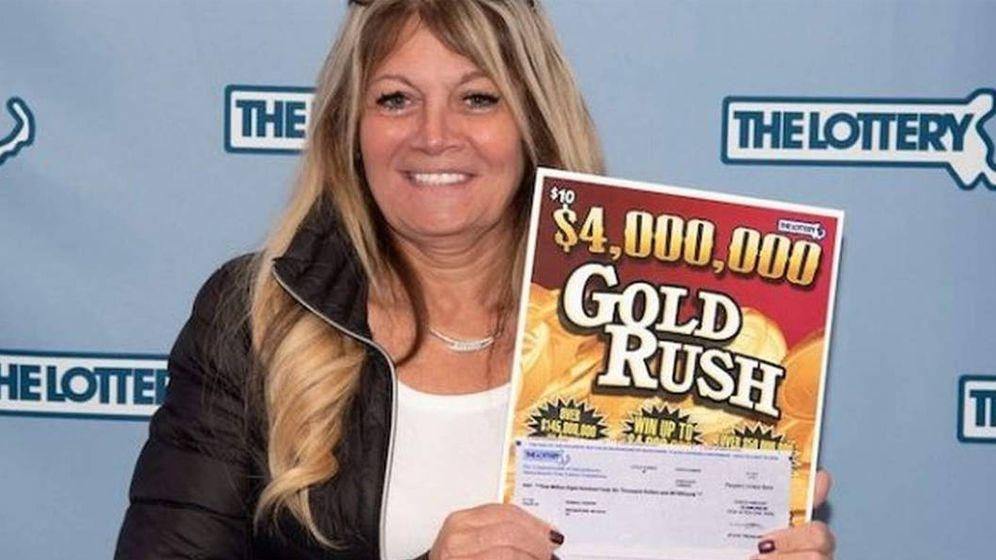 Foto: Susana Gaspar reclamó ante las autoridades los 4 millones de dólares del premio (Foto: Lotería de Massachusetts)