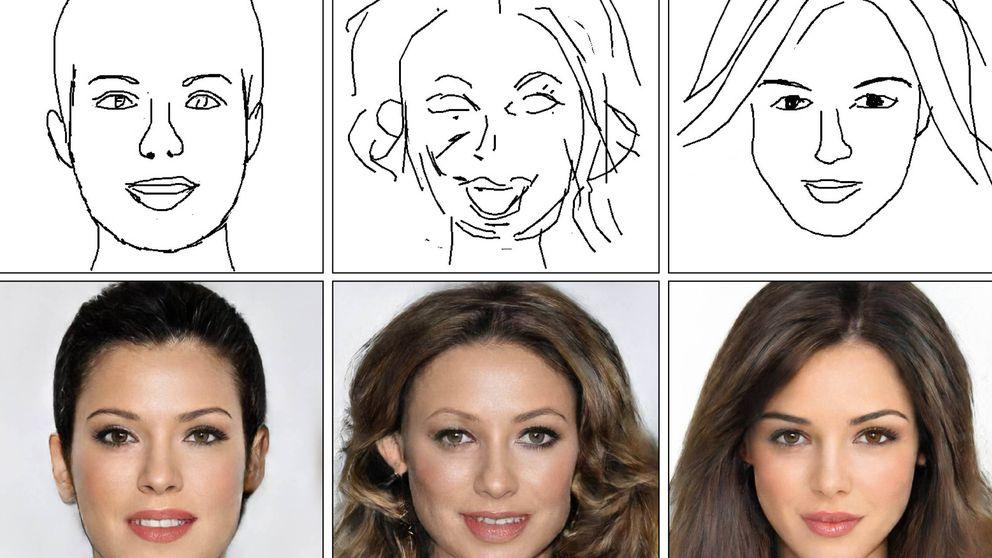 Inteligencia Artificial para crear fotos realistas a partir de bocetos