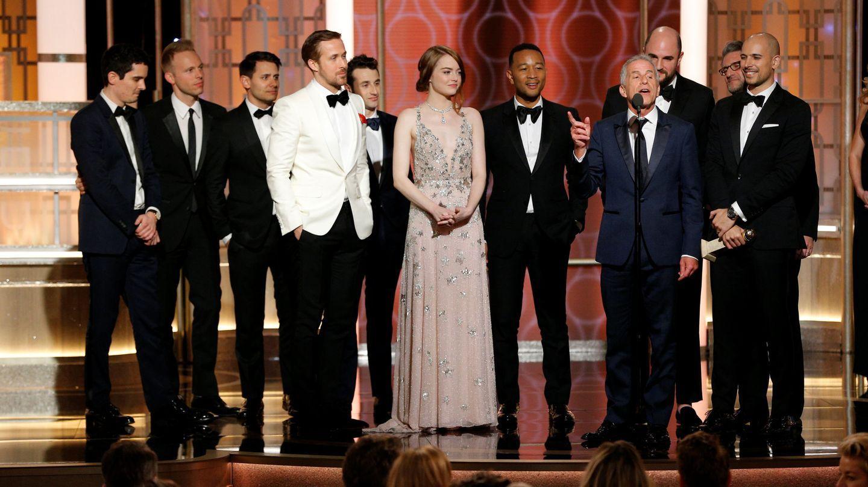 El equipo de 'La La Land'. La ciudad de las estrellas', la gran triunfadora