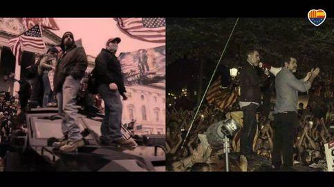 Ciudadanos compara a Puigdemont con Trump en un vídeo de campaña para las elecciones del 14-F