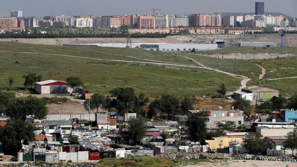Foto: Vista general del Sector 6 de la Cañada Real. (EFE)