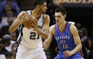 Duncan resucita a los Spurs y los pone a una victoria de la gran final