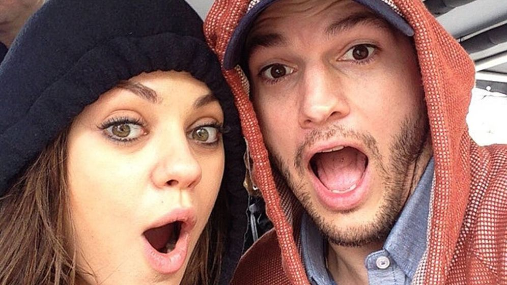 Foto: Mila Kunis y Ashton Kutcher en una imagen de archivo