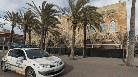 Seis policías aislados en Palma tras atender un accidente de tráfico