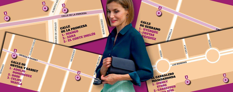 Foto: Doña Letizia en un montaje realizado por Vanitatis