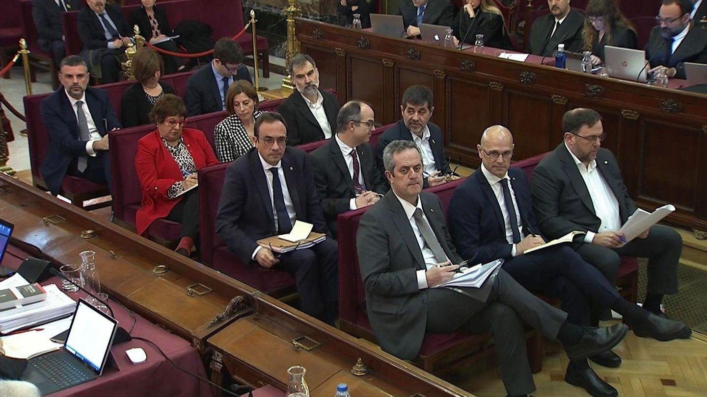 Los acusados. (EFE)