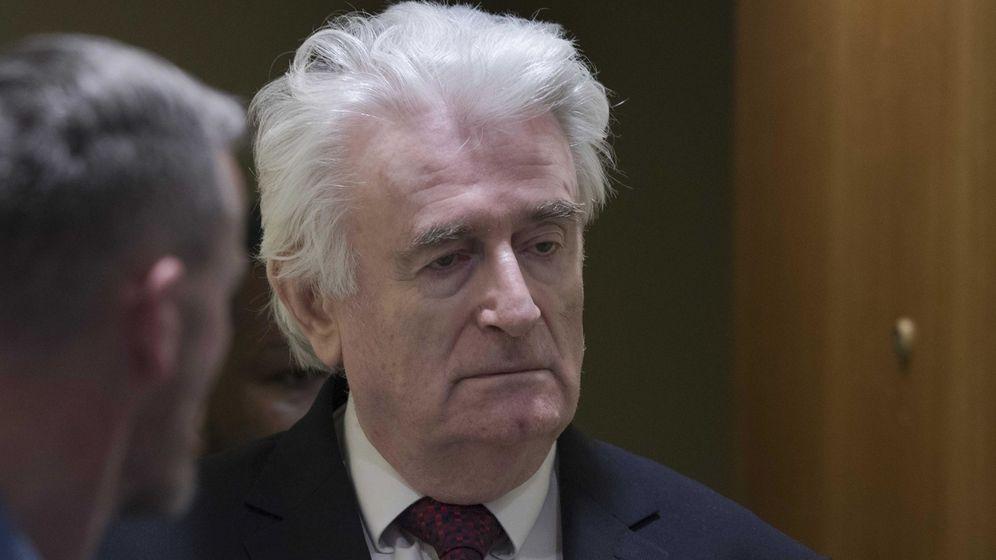 Foto:  El exlíder serbobosnio Radovan Karadzic. (EFE)
