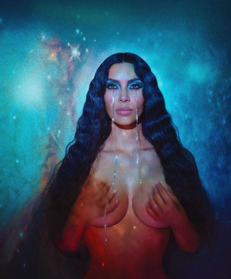 Foto: Inspiración para Halloween: la última campaña de Kim Kardashian. (Instagram)