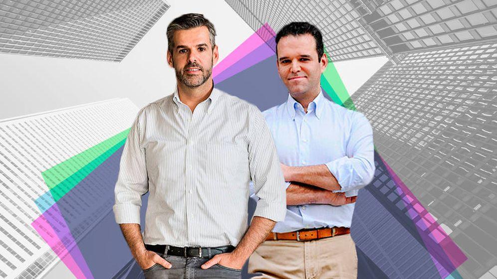 Foto: Fernando y Jesús Encinar, director del servicio de estudios y consejero delegado de idealista (montaje: Carmen Castellón))