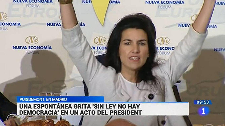Cuando Rocío Monasterio (Vox) era una desconocida espontánea para TVE
