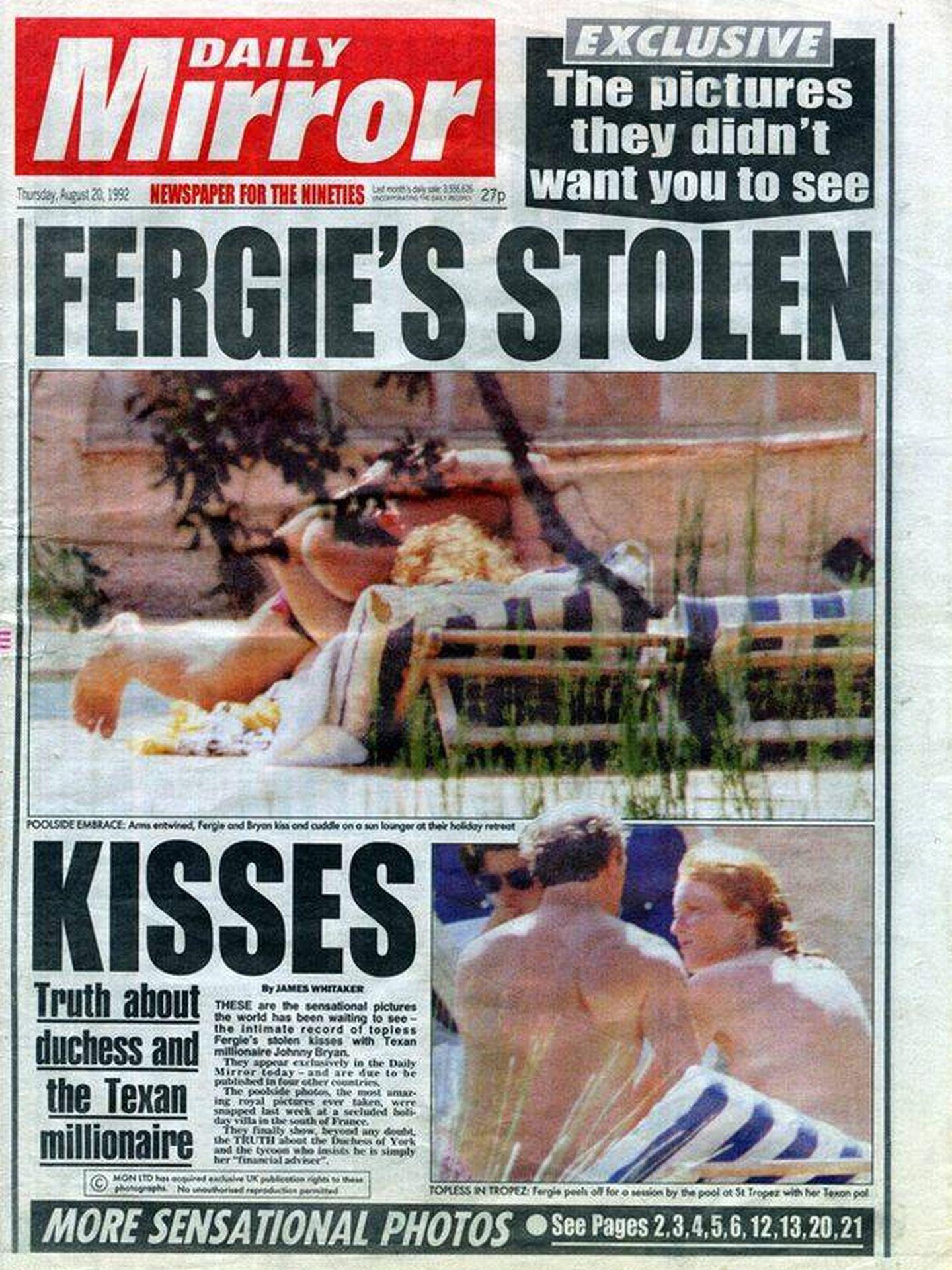 La portada de Sarah Ferguson.