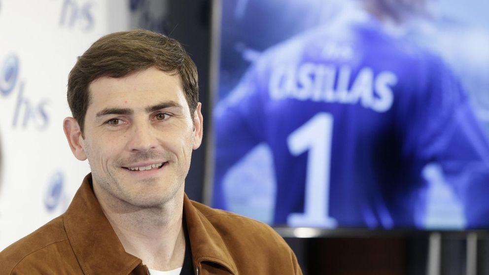 Un Casillas sin alianza habla de la boda: Estoy contento. Os metimos un gol