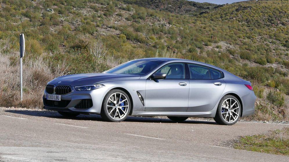 Foto: BMW M850i, deportividad en una berlina de 5 metros