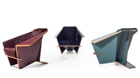 Cassina recupera un sillón clásico de Frank Lloyd Wright