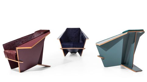 Cassina reedita un clásico de Frank Lloyd Wright: el sillón 'Taliesin 1'