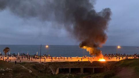 La narrativa de Rabat: España hostiga a los migrantes en las heladas aguas del Mediterráneo