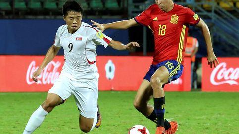 España Sub 17 no falla ante Corea del Norte y pasa a la segunda fase
