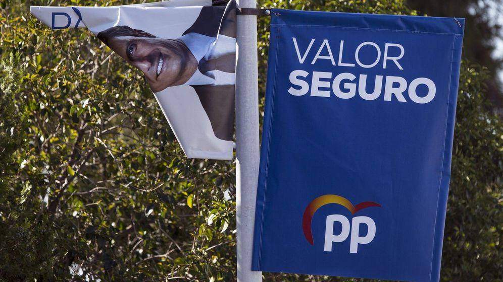 Foto:  Uno de los carteles electorales del partido Popular el 28-A. (EFE)