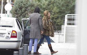 Foto: Estrella Morente visita a su padre en el hospital