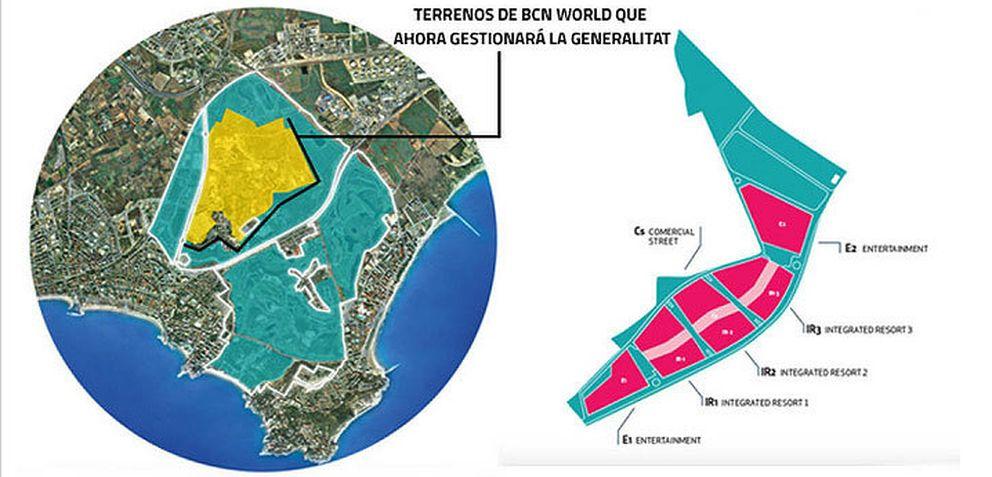 Foto: La Generalitat enmascara el fracaso de BCN World con la tutela pública