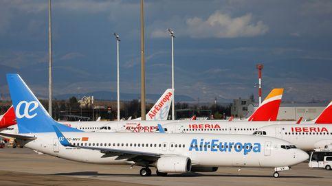 Air Europa recibe avisos de embargos de aviones por el desacuerdo con SEPI