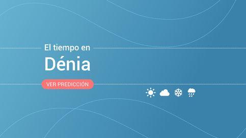 El tiempo en Dénia para hoy: alertas por lluvias, tormentas, fenómenos costeros y vientos
