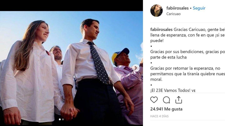 Fabiana Rosales. (Instagram)