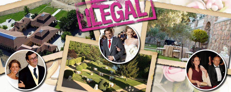 ¿Se casó Ana Aznar en un establo? Estas son las fincas ilegales de bodas de la 'jet set'