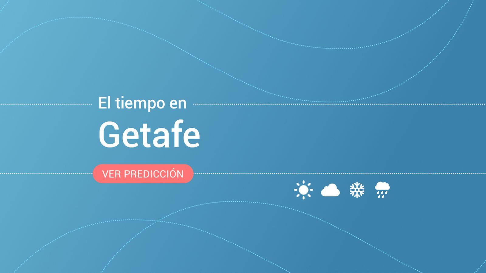 Foto: El tiempo en Getafe. (EC)