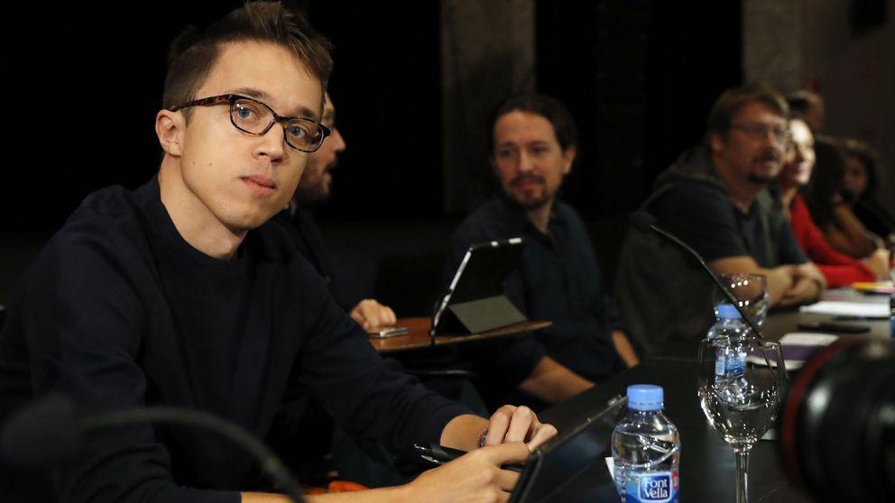 """Errejón aparca """"de momento"""" la lucha con Iglesias para liderar Podemos"""