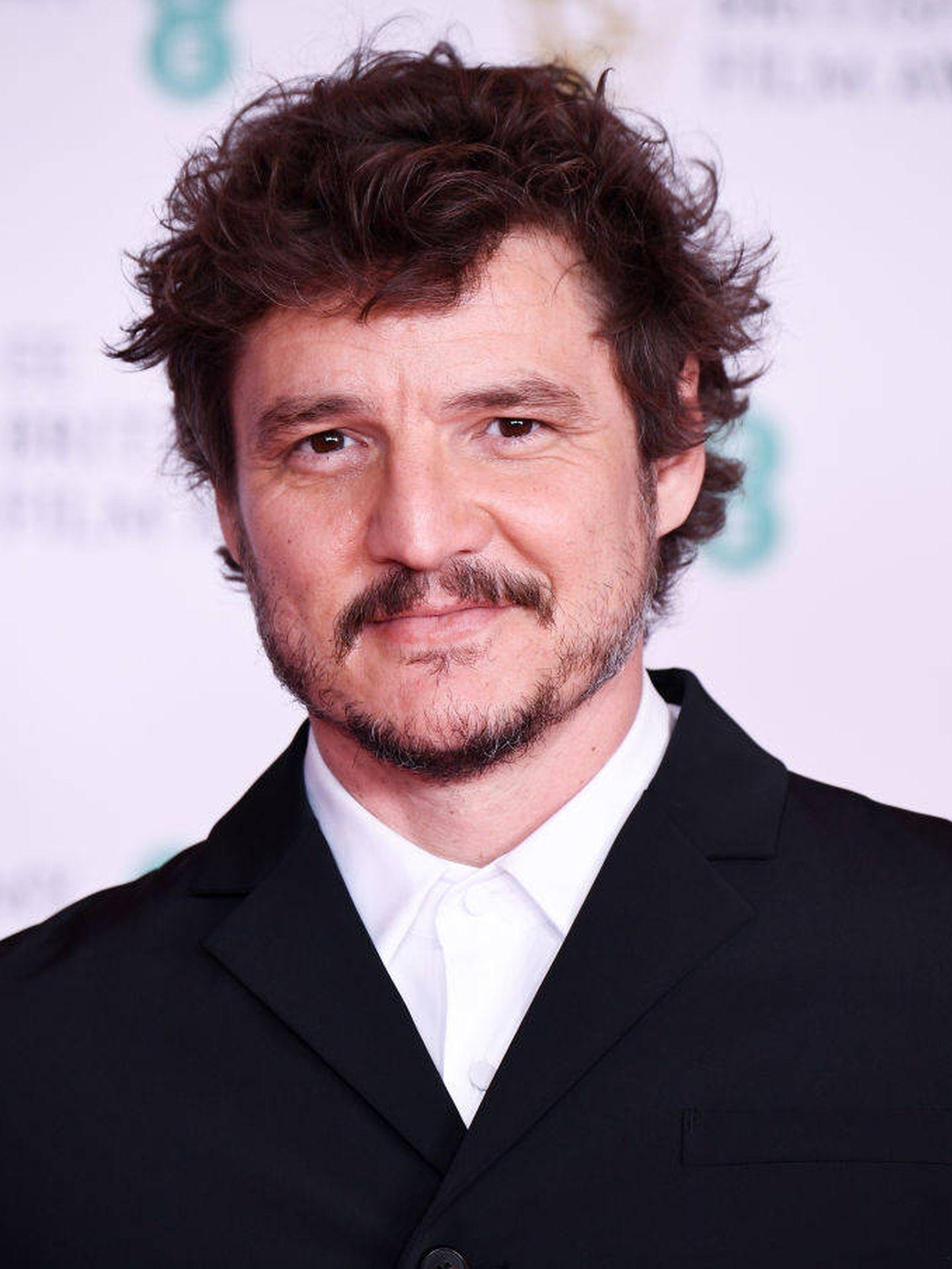 Pedro Pascal, en los BAFTA 2021. (Getty)