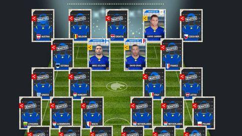 Europol publica los rostros de los fugitivos más buscados en forma de cromos de fútbol