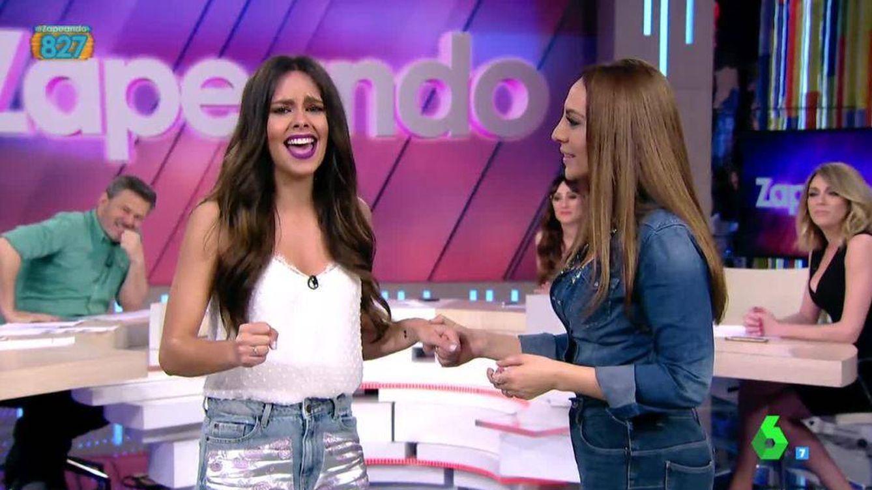 Cristina Pedroche, fan de Mónica Naranjo y Amaia, en los últimos días de 'OT'
