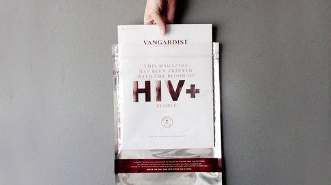 Una revista impresa con sangre con VIH para luchar contra miedos irracionales