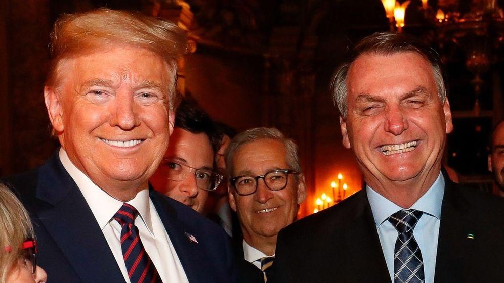 Foto: Donald Trump y Jair Bolsonaro. (Reuters)