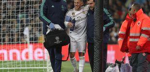 Post de La racha de lesiones del Real Madrid a dos semanas del Clásico: Hazard, Bale y Marcelo